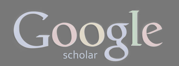 Google Scholar Profile Graphic & Link